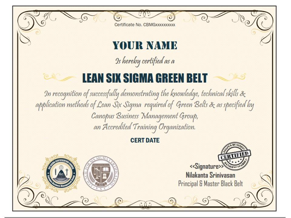 Six Sigma Certification Lean Six Sigma Six Sigma Certification