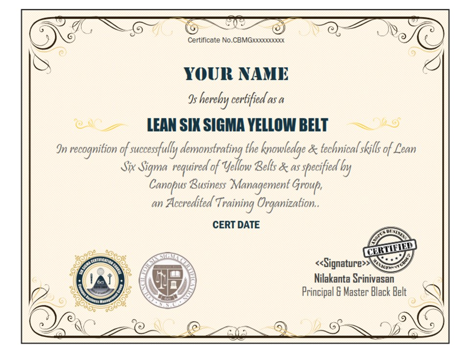 Six Sigma Certification Lean Six Sigma Six Sigma Certification